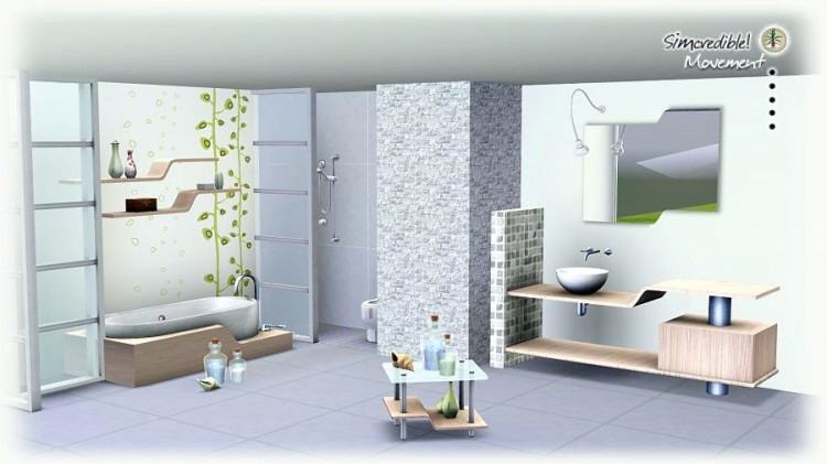 [Bathroom Ideas] Sims 4 Bathroom Nice