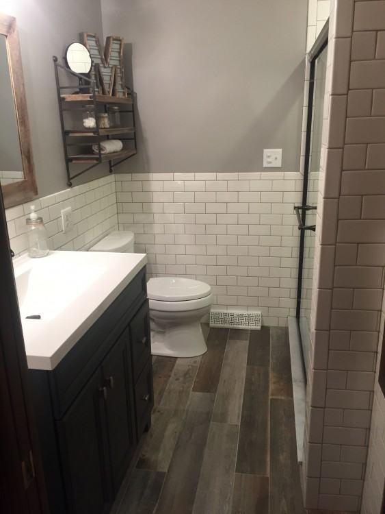 wood tile floor flooring before and after reveal wood looking tile days of wood  tile floor