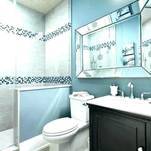 blue bathroom ideas new ideas blue and brown bathroom. #newbuild #newbathroom #ourhome #ournewhome