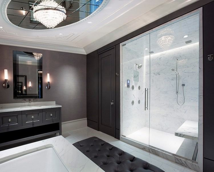 white master bathrooms all images black