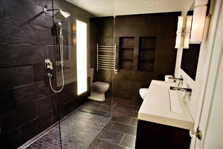 bedroom and bathroom ideas open #moderndesign #homeinspo #vogueliving