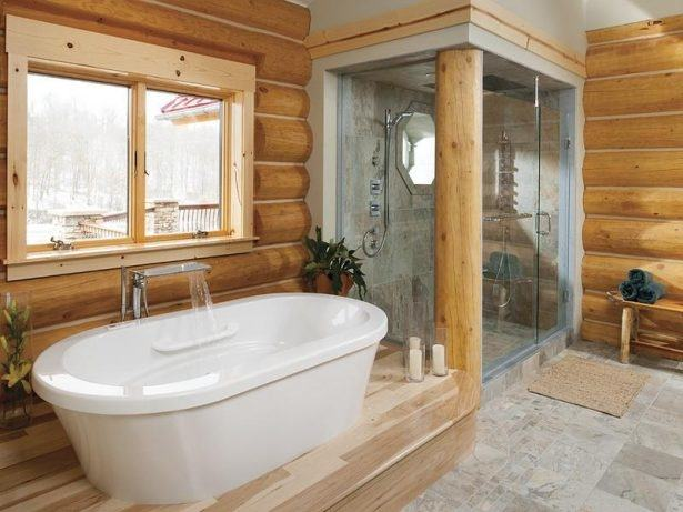 Unique Country Master Bathroom Ideas With Rustic Bathroom By Lynette Zambon & Carol #bathroom #bathroomdesign #bathroomdecor