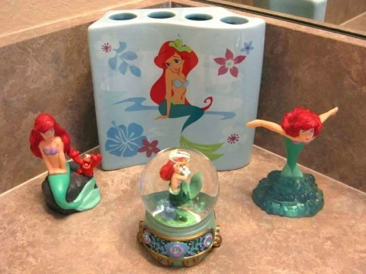 mermaid bathroom