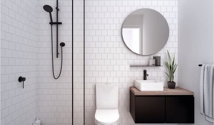 Understandably, the guest bathroom design