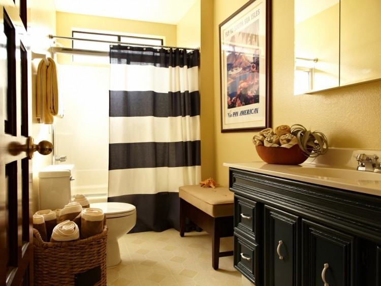 appealing gray and yellow bathroom  ideas