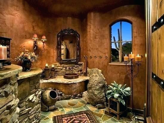 southwestern bathroom decor #luxurylife #luxurylifestyle #luxuryhomes