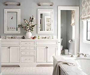 neutral bathroom