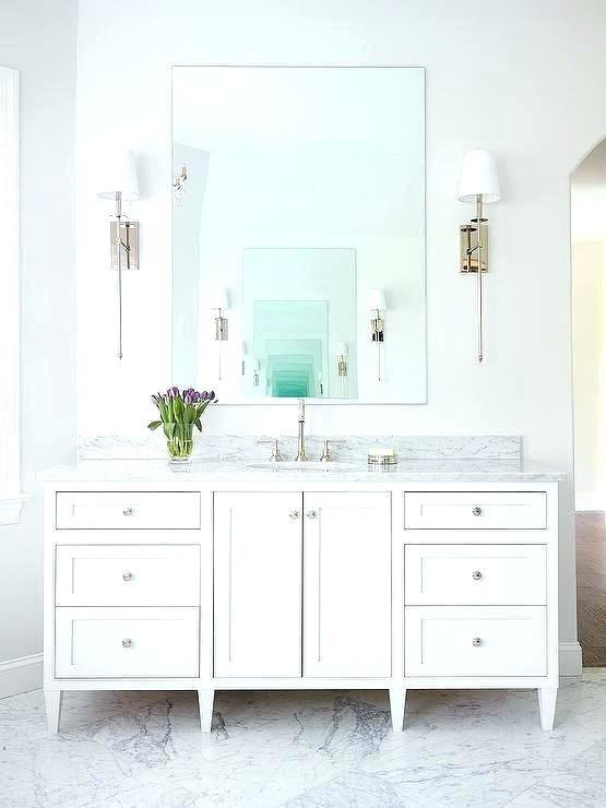 25 Best White Vanity Bathroom Ideas On Pinterest White Bathroom Design  of White Bathroom Cabinet Ideas