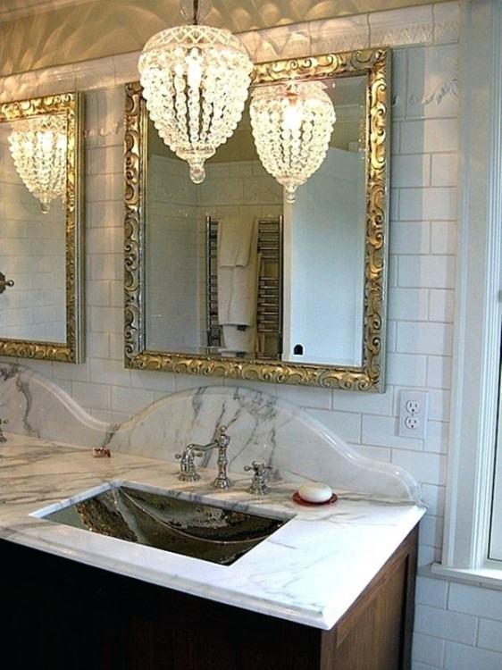 bathroom : Beautiful Small Bathroom Chandelier Ideas Find Furniture