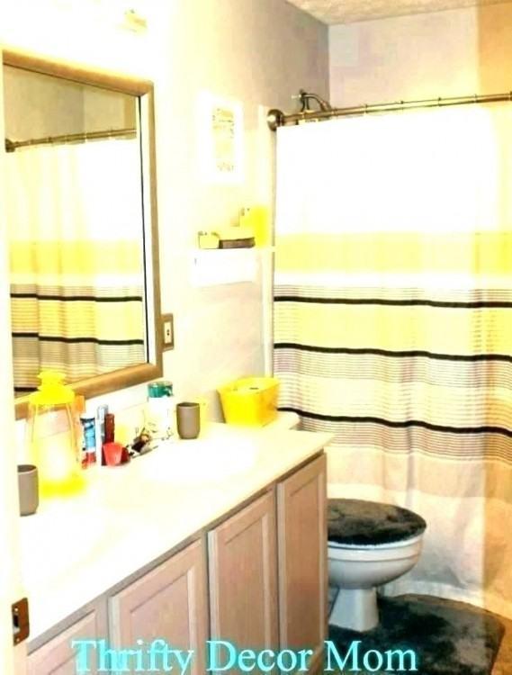inspiring black yellow and gray bathroom yellow and grey bathroom decor yellow bathroom decorating ideas yellow #bathroom #bathroomdesign #BathroomDecor