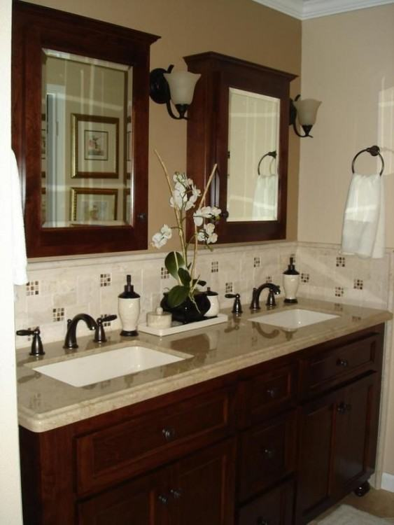 [Modern Bathroom] Backsplash Bathroom White Tile