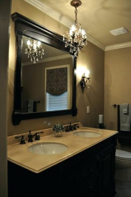 bathroom chandeliers top top small