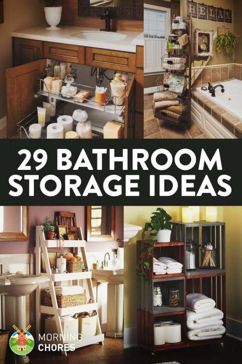 [Modern Bathroom] Bathroom Small Space Space Saving Designs