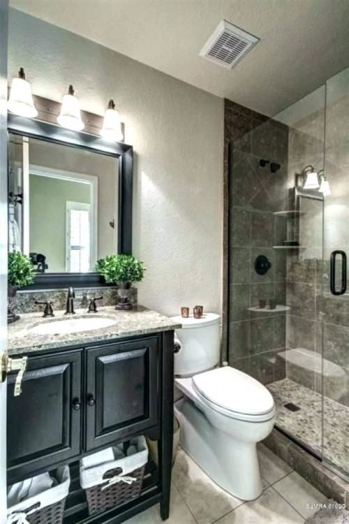 small industrial  bathroom