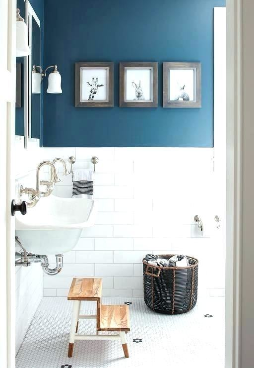 blue bathroom color scheme ideas small schemes colors pictures inspiring  brown white