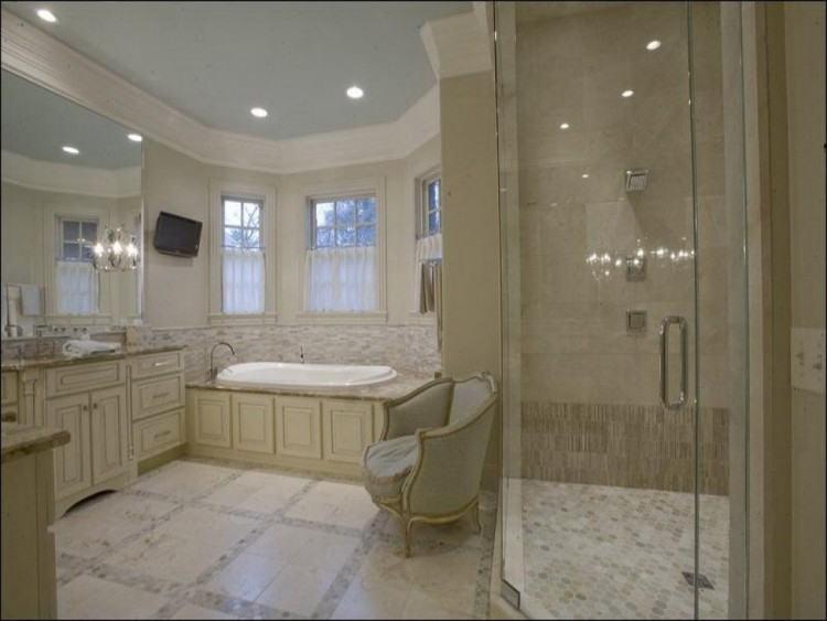stunning neutral bathroom